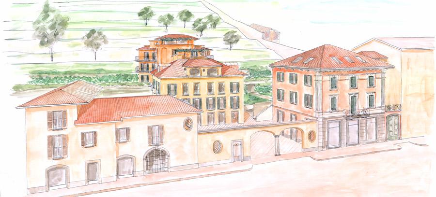 Oggiono Palazzo Rotta
